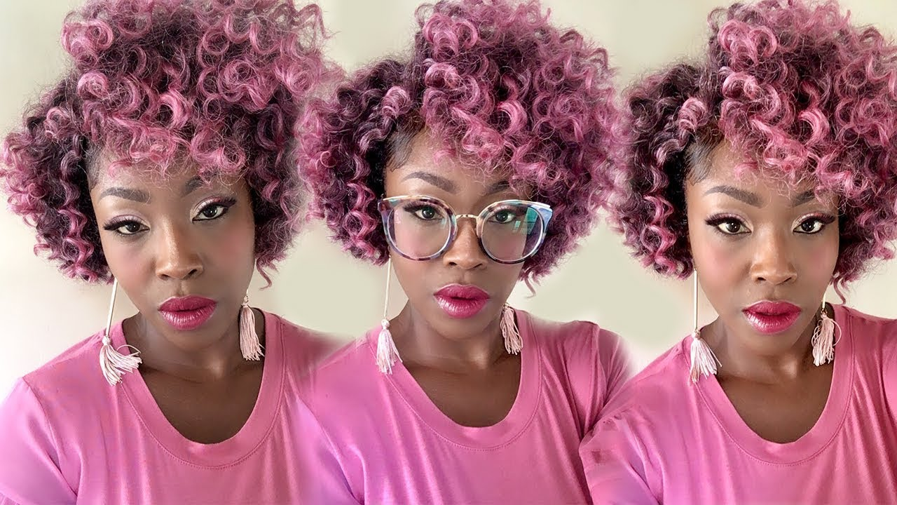How to Crochet a Curly Bob Wig {Zury 8*9*
