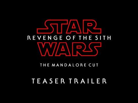 Star Wars Revenge Of The Sith The Mandalore Cut Teaser Trailer Youtube