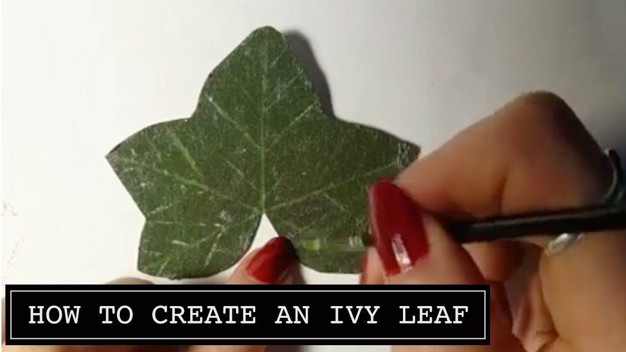 How To Make An Ivy Leaf Craft Video Craft Jitsu Card Making Online Class