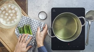 How-to: Cooking asparagus | The right way to prepare the tender spears | FOOBY
