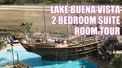 Lake Buena Vista Resort 2 Bedroom Suite Room Tour | Family Travel In Orlando Florida