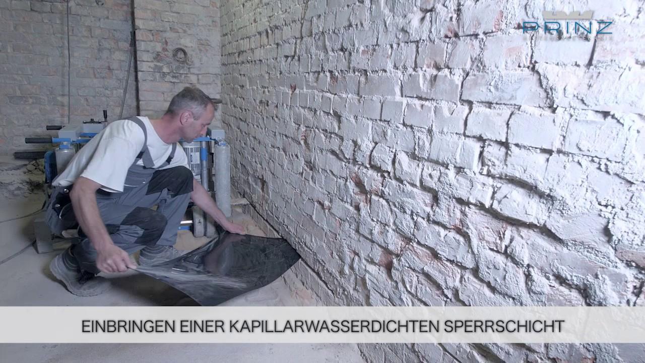 Prinz Mauersage Pms 25 Kettensage Fur Mauerwerk Youtube