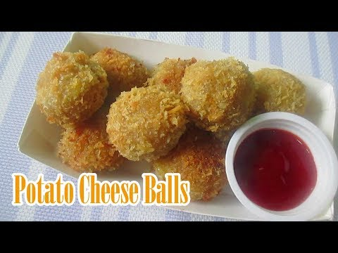 Potato Cheese Balls I How To Make Potato Cheese Balls Recipes