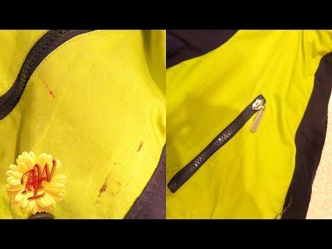 Как очистить ткань от краски. How to clean the fabric from a paint.