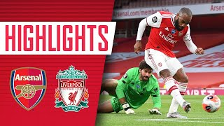 HIGHLIGHTS Arsenal 2 1 Liverpool Premier League Lacazette Nelson Mane