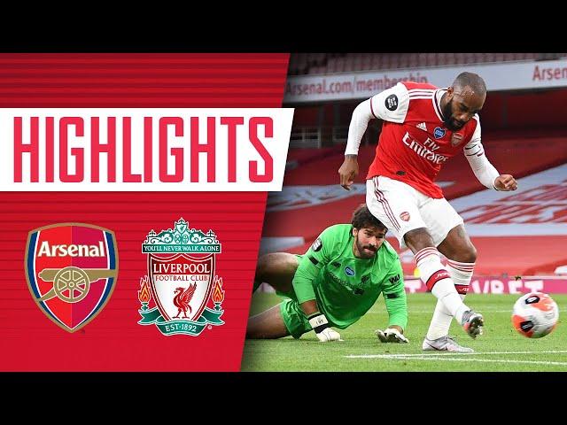 HIGHLIGHTS | Arsenal 2-1 Liverpool | Premier League | Lacazette, Nelson, Mane - Arsenal