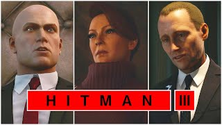 Hitman 3 - All ENDINGS & Credits 'All 3 Outcomes' (2021)