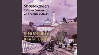 24 Preludes for piano, op. 34: No. 21 Allegretto poco moderato