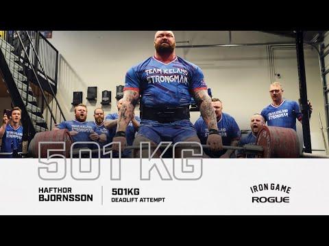 Full Live Stream | Hafthor Bjornsson 501KG Deadlift Attempt