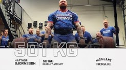 Full Live Stream | Hafthor Bjornsson 501KG Deadlift Attempt
