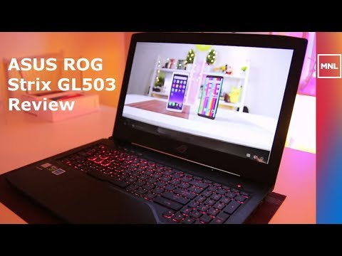 ASUS ROG STRIX GL503 Review - Good Gaming and Editing Laptop?