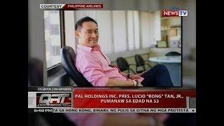 QRT: PAL Holdings Inc. Pres. Lucio