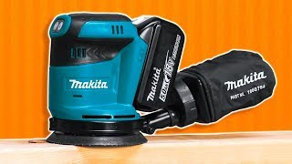 Makita Cordless Random Orbital Sander Overview