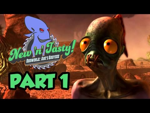 Oddworld New 'N' Tasty Gameplay Walkthrough Part 1 - HE'S BACK (Abe's Oddysee PS4)