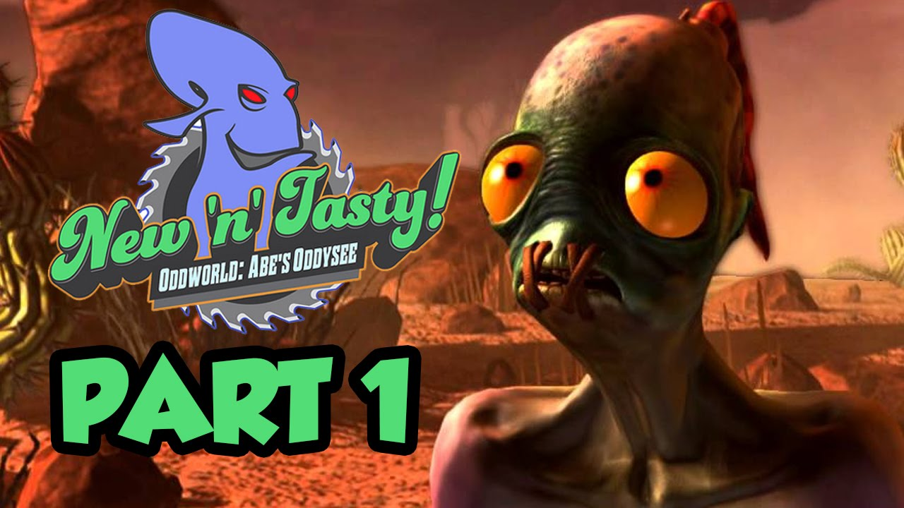 60fps] Oddworld New 'n' Tasty PS4 vs Xbox One Gameplay Frame-Rate .