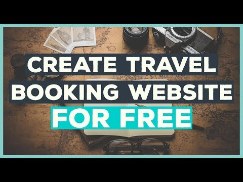 💻💰 Create TRAVEL Booking Website For FREE (How To)