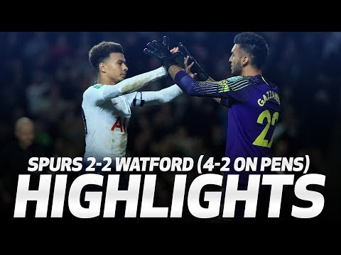 HIGHLIGHTS | SPURS 2-2 WATFORD (4-2 ON PENS) | CARABAO CUP THIRD ROUND