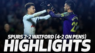 Download Video HIGHLIGHTS | SPURS 2-2 WATFORD (4-2 ON PENS) | CARABAO CUP THIRD ROUND MP3 3GP MP4