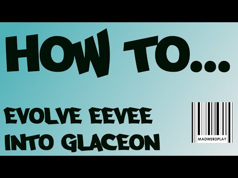 How to evolve Eevee to Glaceon.  Pokemon ORAS Eeveelution Guide Part 8