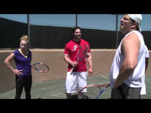Cincinnati Bengals Meet Tennis - Bethanie Mattek-Sands' NFL Challenge (Part 2)