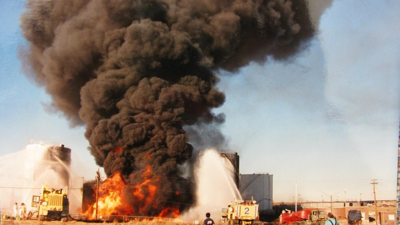 Denver CO Stapleton IAP Tank Farm Fire 11 24 90 YouTube