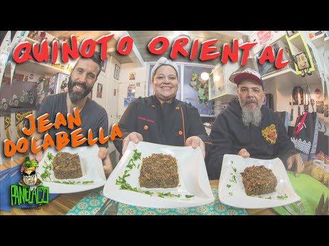 Quinoto Oriental com com Jean Dolabella e chef Patricia| Panelaço do João Gordo
