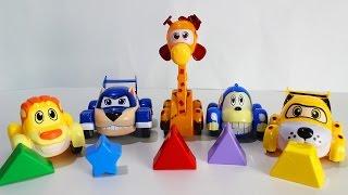 ВРУМИЗ Мультик для детей  про машинки на Русском Развивающие мультфильмы Учим Фигуры Игрушки Врумиз