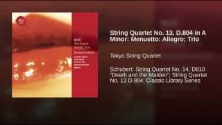 Menuetto: Allegro; Trio