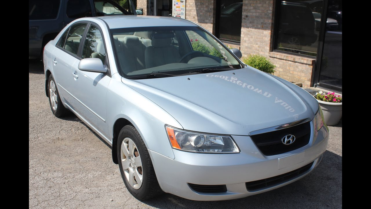 SOLD Used 2008 Hyundai Sonata GLS ONE OWNER Geor own Auto Sales KY