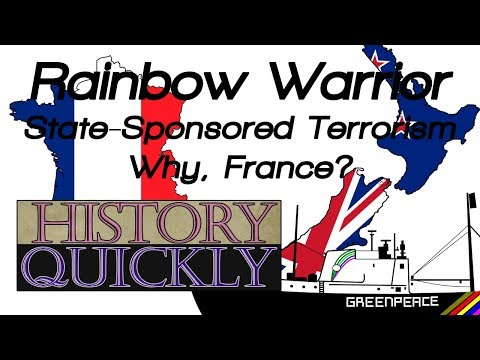 Why did French Intelligence Attack New Zealand(in 1985)? ll History Quickly