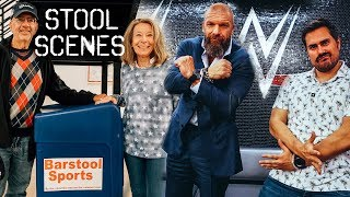 Dave Portnoys Parents Drop By Barstool HQ & The PMT Boys Visit WWE Headquarters - Stool Scenes 226.5