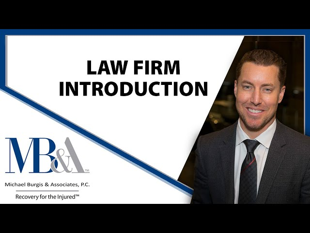 Michael Burgis & Associates, P.C. Law Firm Introduction