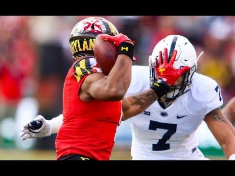 DJ Moore (Maryland WR) Vs Penn State - 2017