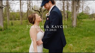 Kaycee & Jordan Sneak Peek Wedding | Luke Combs - Forever After All