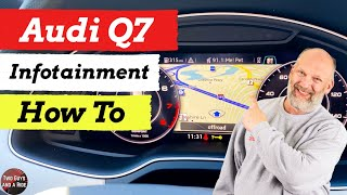 Infotainment How To - 2019 Audi Q7