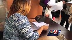 Daytona Beach residents wait overnight for affordable housing