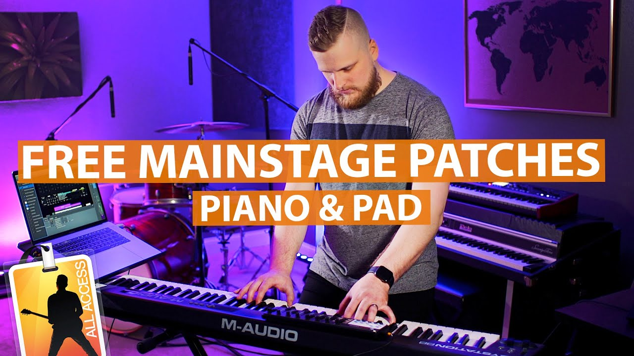Free MainStage Patches Demo from Sunday Sounds — MainStage