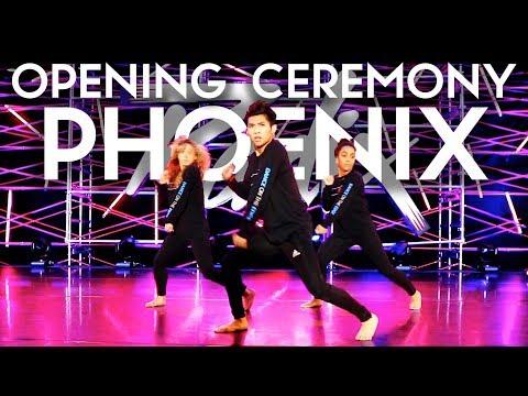 Radix Opening Ceremony Phoenix | Radix Dance Fix Season 2 | Ocho Cinco - DJ Snake Feat Yellowclaw