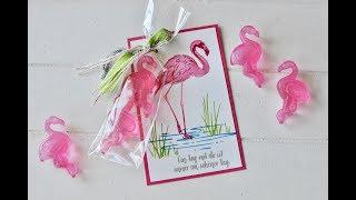 Goodie: Eiswürfel Flamingo | Flamingo Fantasie | Stampin