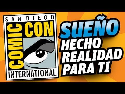 Gana viaje todo pagado a Comic Con 2017 (valido todo latinoamérica)