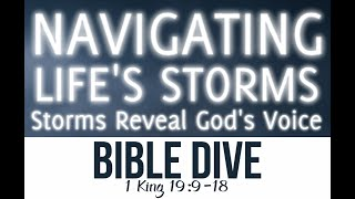 Brief Bible Dives: 1 Kings 19:8-18