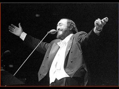 Luciano Pavarotti - Addio Fiorito Asil - Madame Butterfly