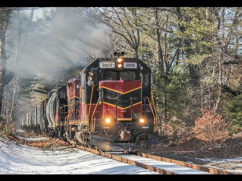 Freight on the Massachusetts Coastal Railroad