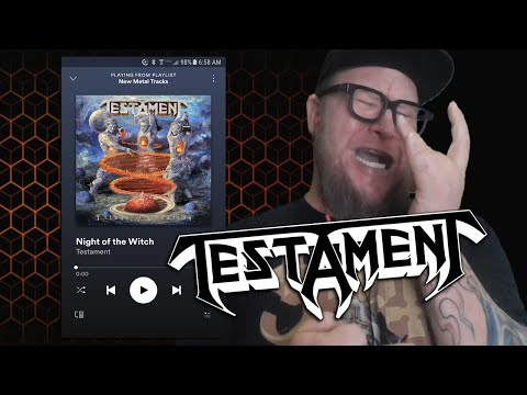 "Download  TESTAMENT ""Night of the Witch""  First Listen Gratis, download lagu terbaru"