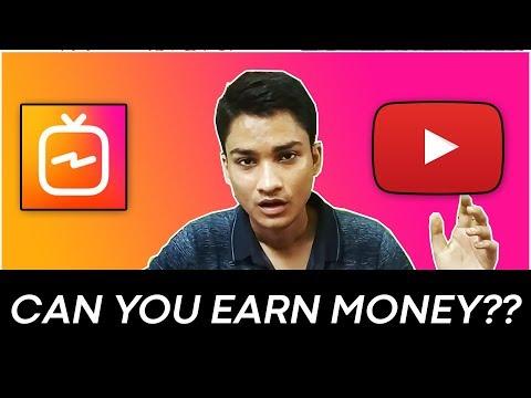 IGTV - YouTube Killer? How To Use and Earn Money?   HINDI