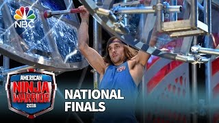 Jake Murray at the National Finals: Stage 2 - American Ninja Warrior 2016