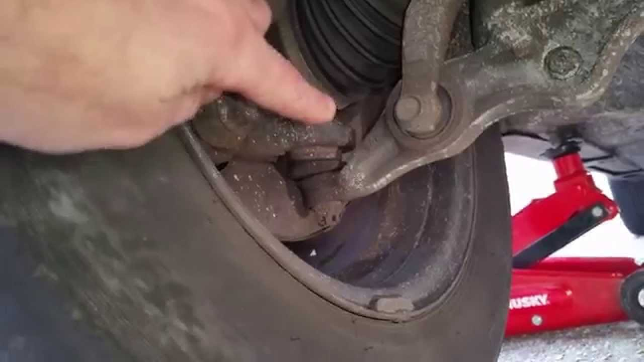 How To Check Lower Ball Joints Easy Youtube