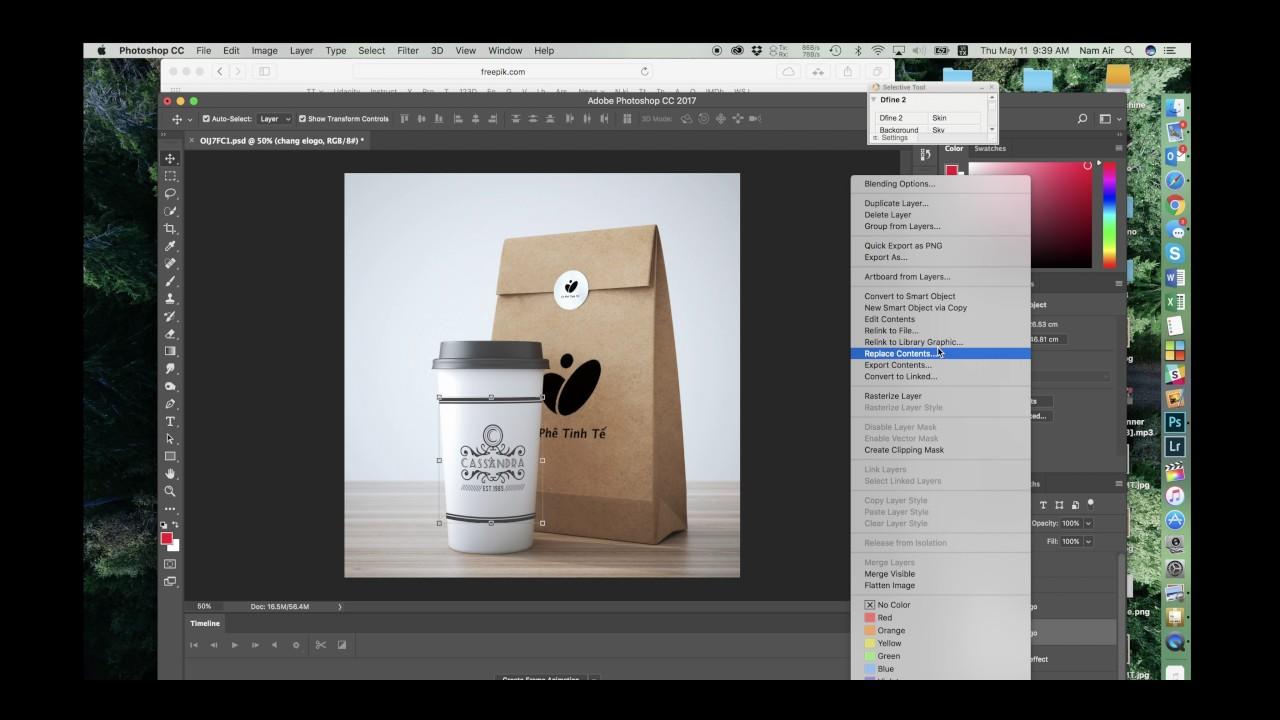 Hướng dẫn thiết kế đẹp bằng Mockup trong Photoshop   Tinhte.vn