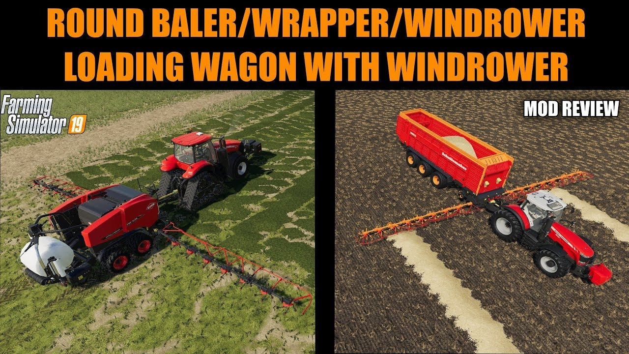Farming Simulator 19 Mods Windrower