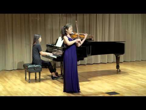 Mendelssohn violin concerto 1st movement - Hannah Song
